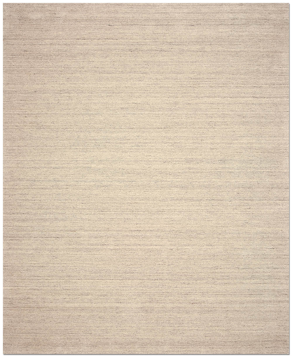 Plain Zebrano area rug