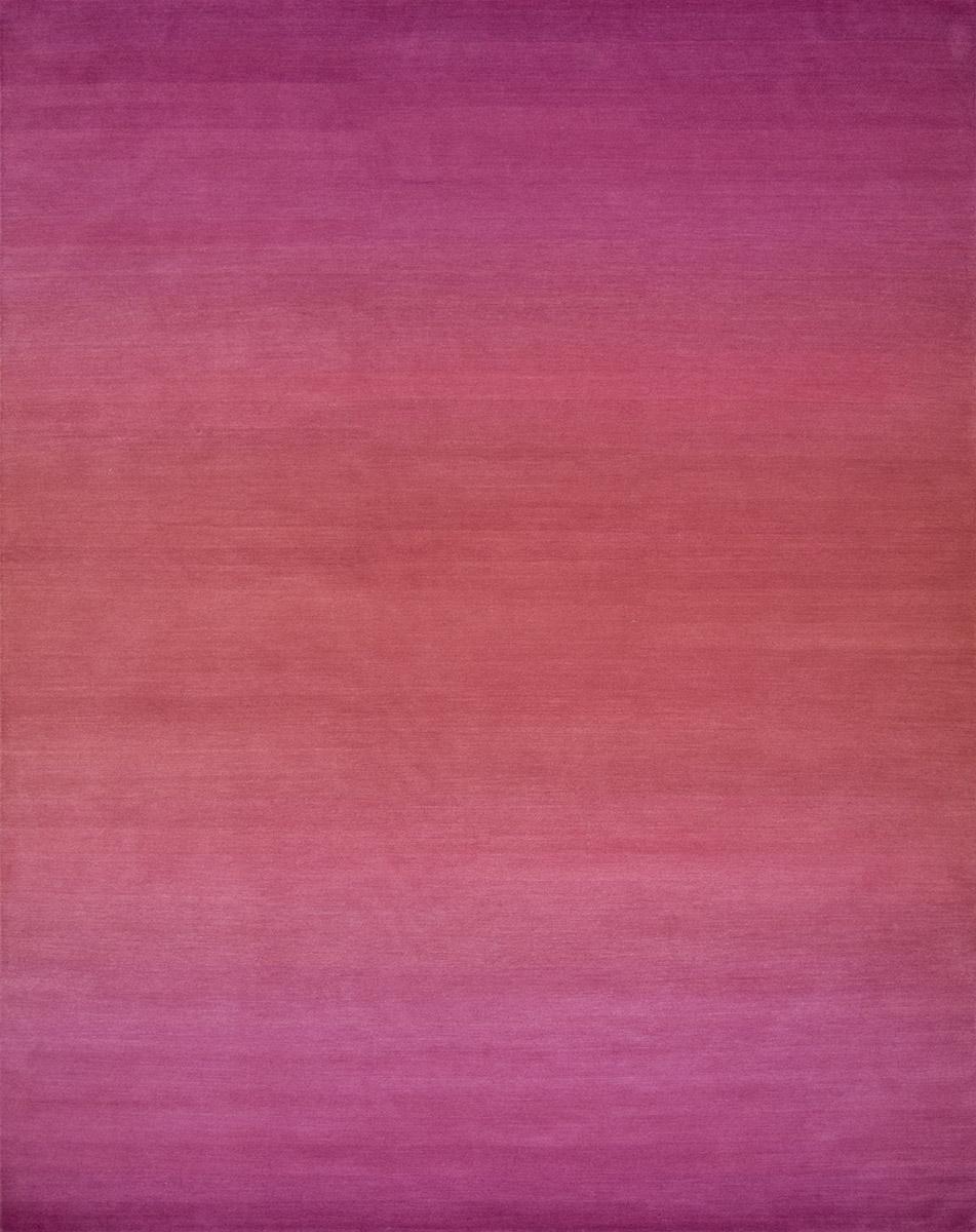 Horizon 8x10 Orange To Pink Area Rug Weavers Art