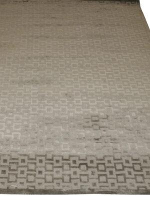 Squared area rug