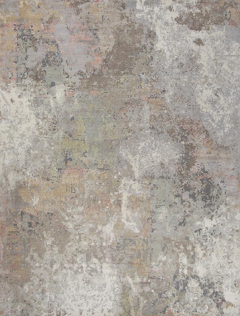 Concrete Blossom area rug