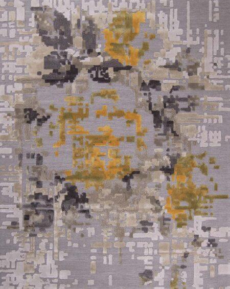 Pixel area rug